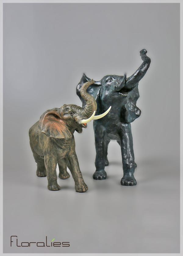 Statuette d'éléphant